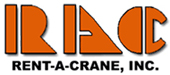 Official Logo for Rent-A-Crane Inc in Virginia